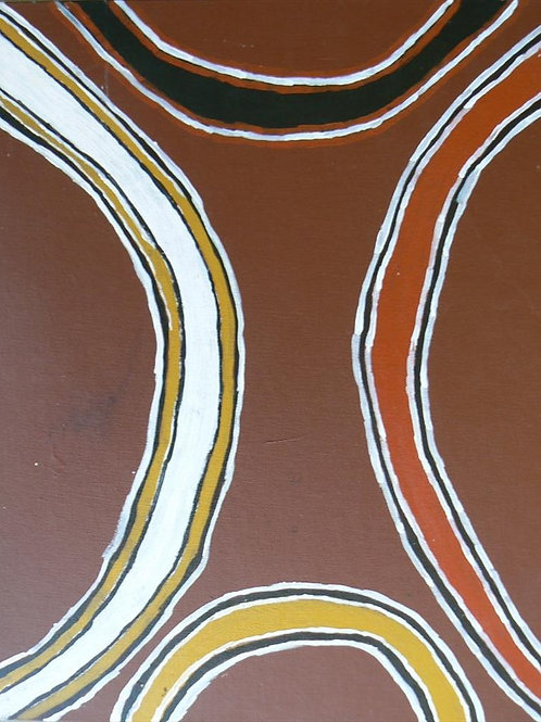 Painting: 'Traditional Patterns'