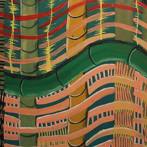 Painting: 'Jawun Pattern'