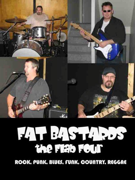 FAT BASTARDS - The Flab Four