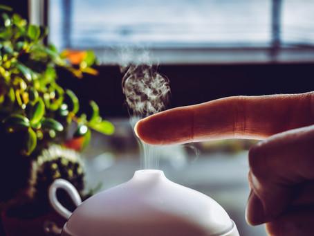 Difusores e aromaterapia em casa