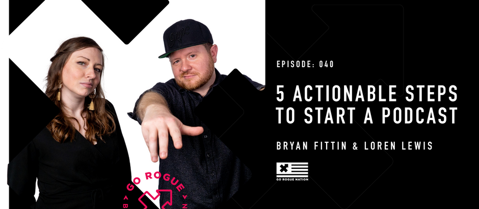 5 Actionable Steps to Start a Podcast