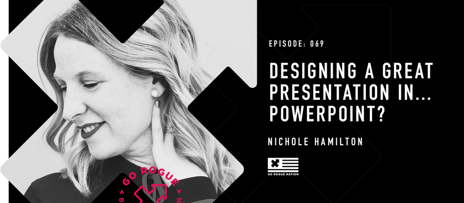Designing a Great Presentation in... PowerPoint? w/ Nicole Hamilton