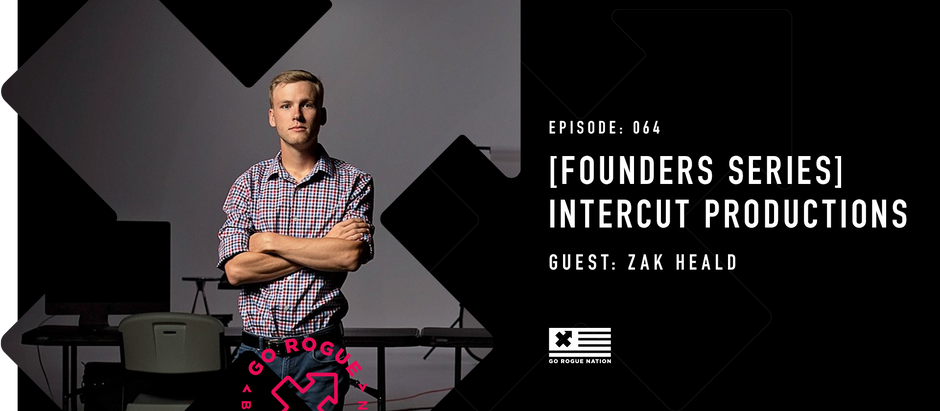 [Founder's Series] Zak Heald of Intercut Productions