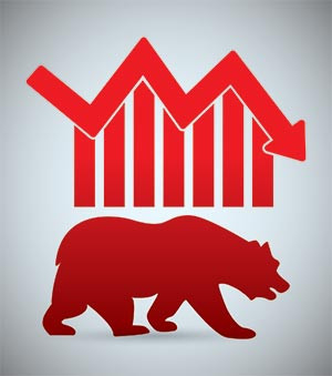 Stock markets can go down further.