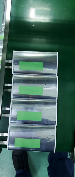 Jelly rolls produced using our machines in China - 22nd Oct 21