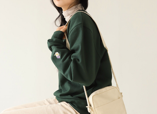 【野菊】スウェット2種&メッセージミニクロスバッグ