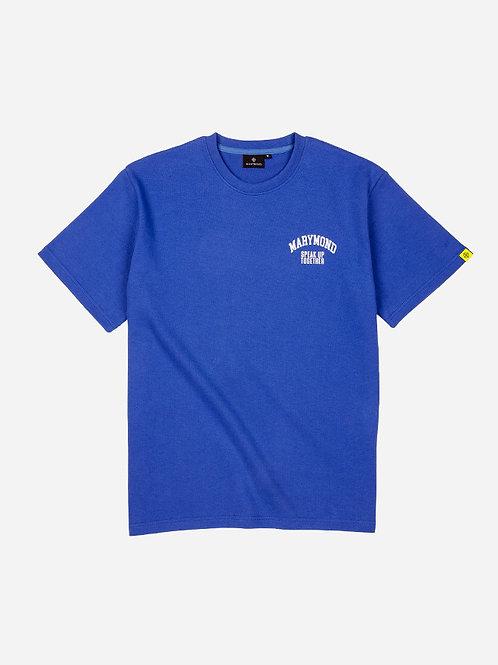 グラフィック シンプルTシャツ SUT(ブルー)