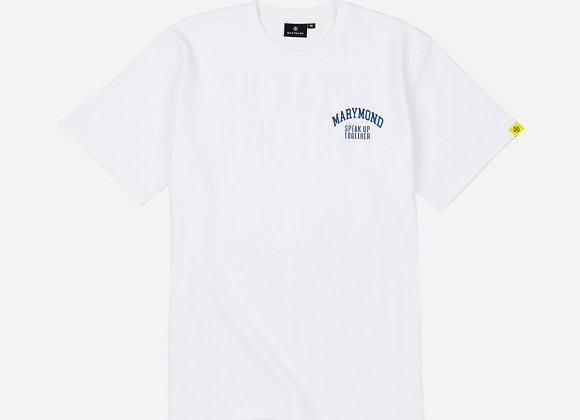 グラフィック シンプルTシャツ SUT(ホワイト)