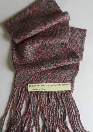 £20 silk, merino & bamboo