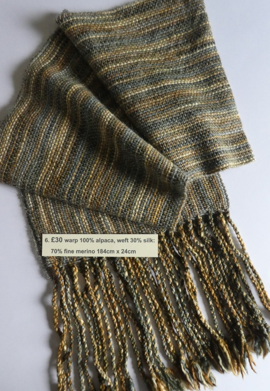 £30 alpaca, silk & merino