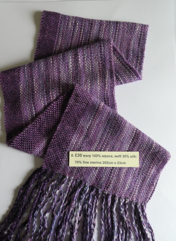 £30 alpaca, silk & fine merino