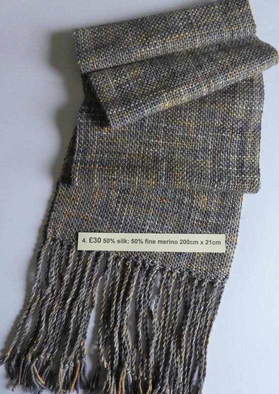 £30 silk & fine merino