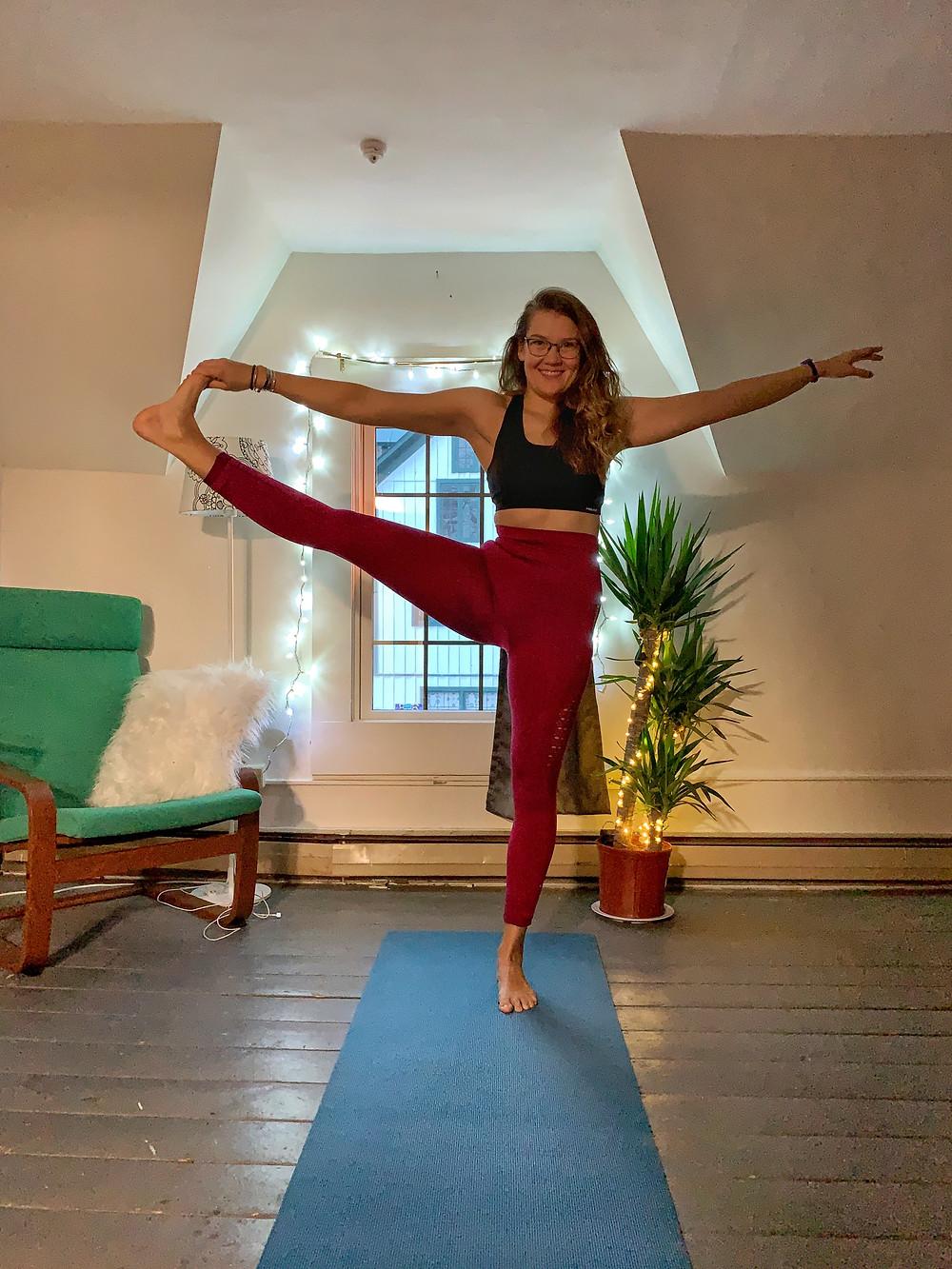 Helen, yoga, VT