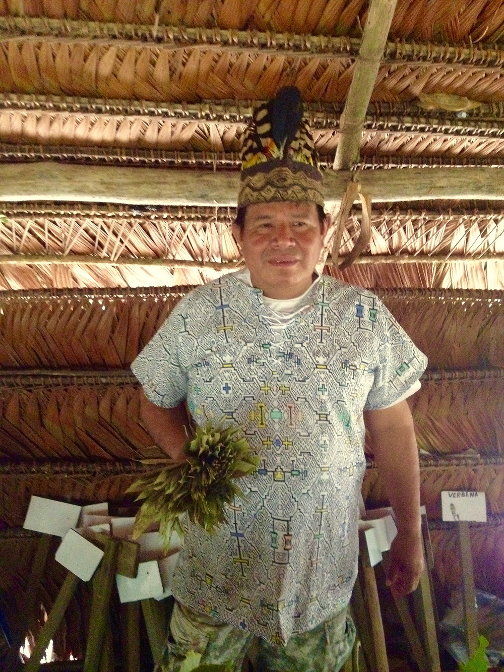 Shaman--Amazonian Rainforest