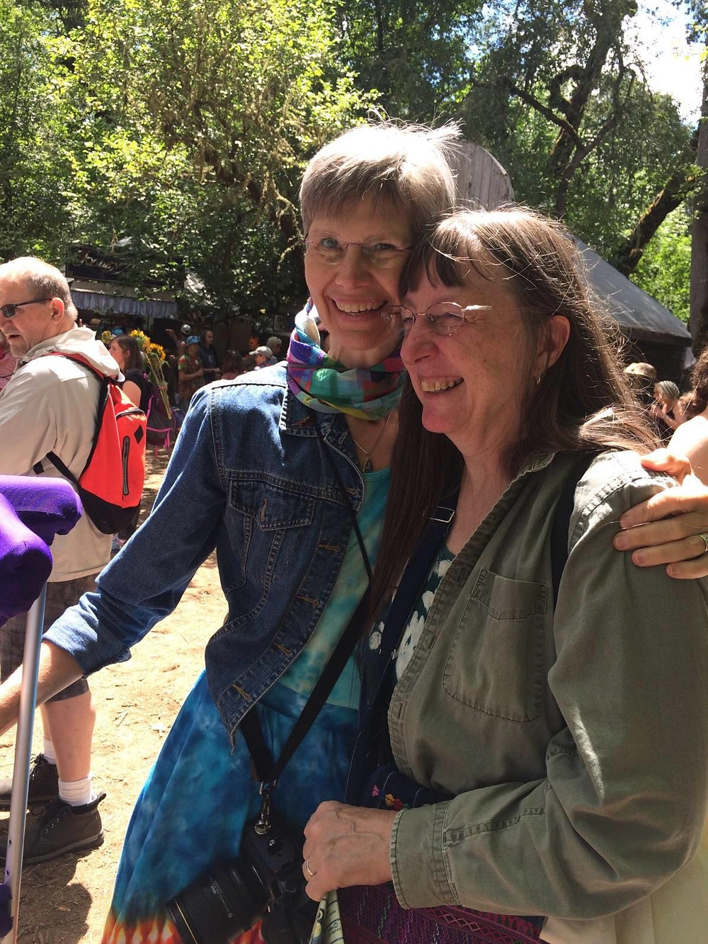 Oregon Country Fair with Jody Carter, July 2016