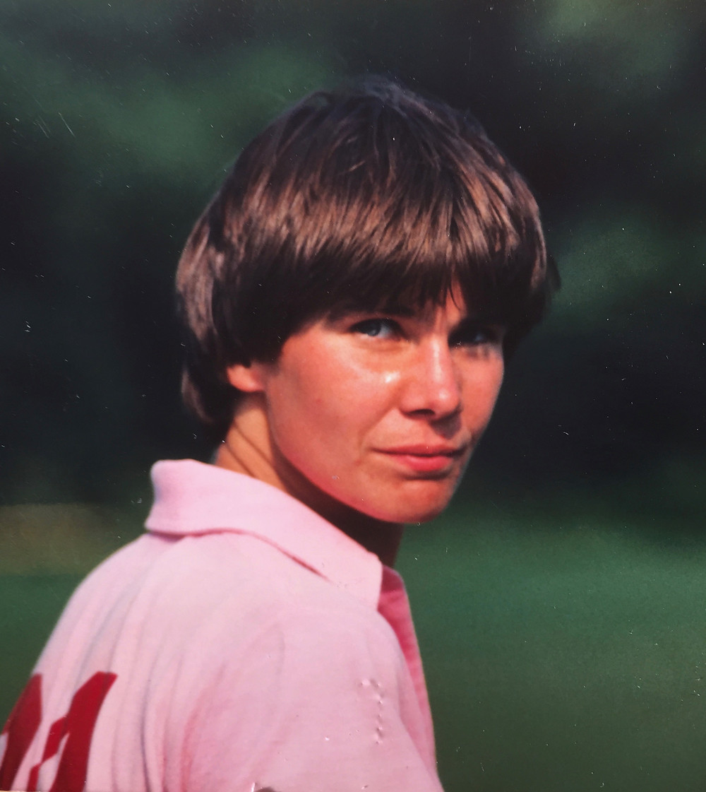 Dotty at Lacrosse Nationals, 1981