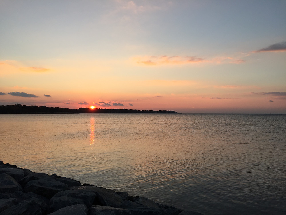 Sunrise over the Chesapeake Bay