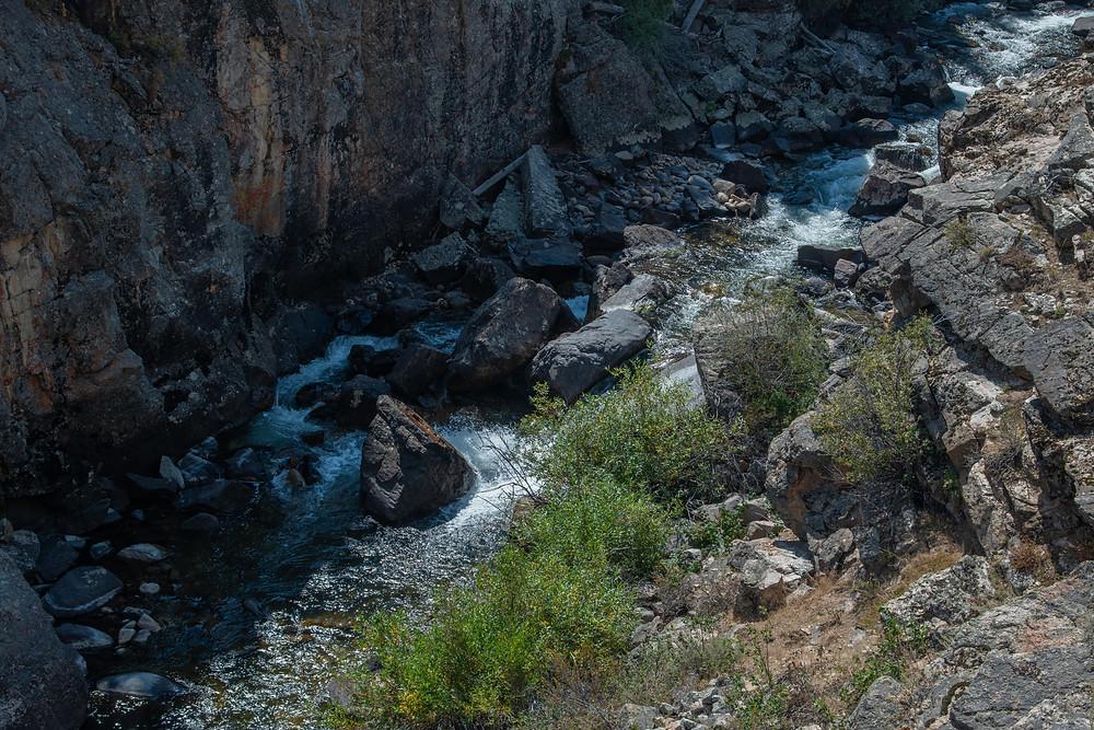 Popo Agie River, Sink Canyon, WY