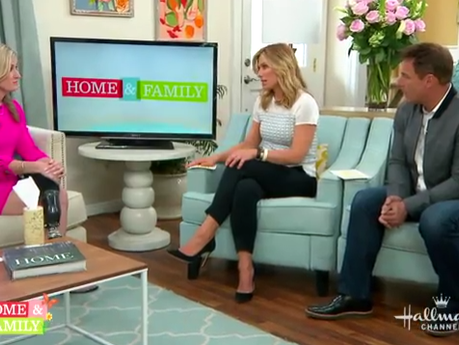 Hallmark Home and Family Interview - pt 1