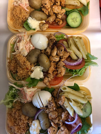 Salad Boxes. Healthy & filling