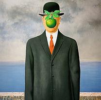 René Magritte - Le Fils de l'Homme