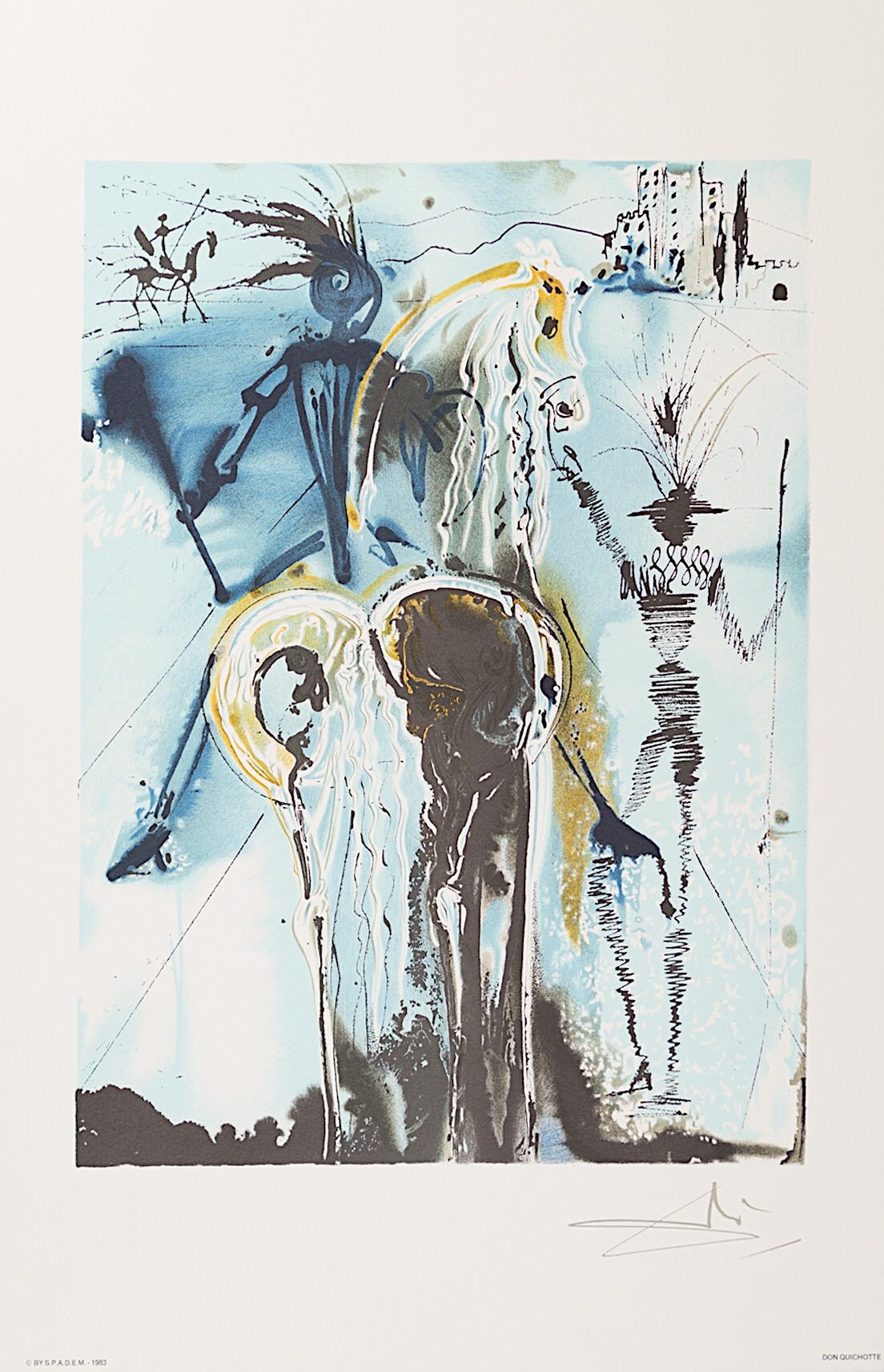 DALI - Don Quichotte (1983)