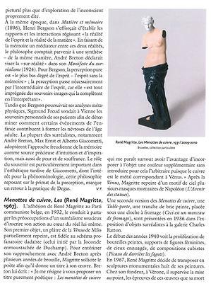 Les Menottes de Cuivre - René Magritte