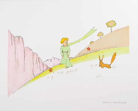 Le Petit Prince et le renard (The Little Prince and The Fox)