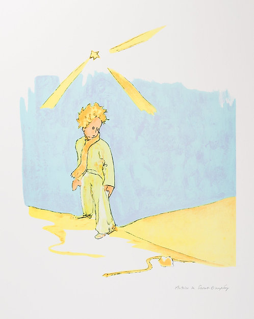 Le Petit Prince et le serpent (The Little Prince and The Snake)
