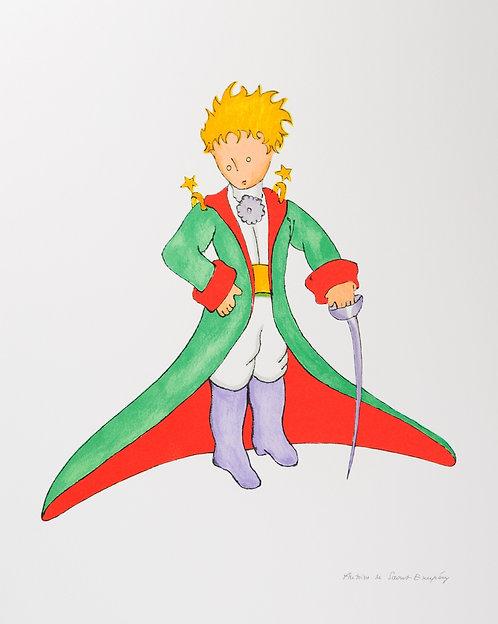 Le Petit Prince en grand manteau (The Little Prince In His Suit)