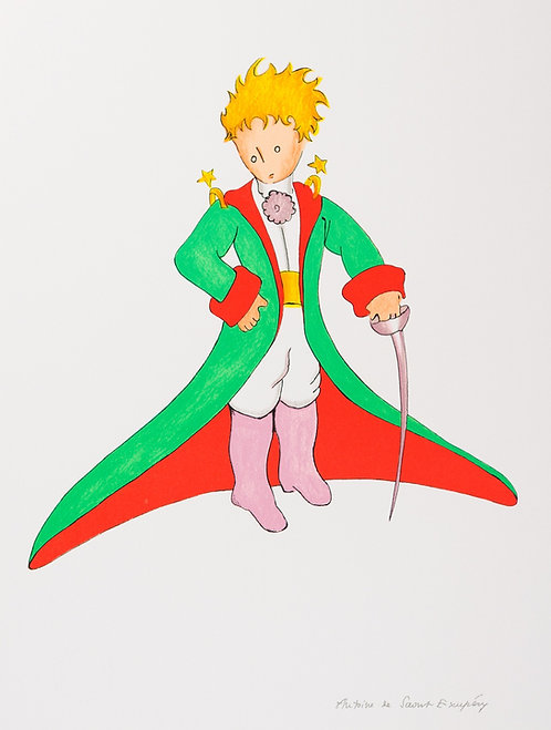 Le Petit Prince en grand manteau (The Little Prince In His Suit)