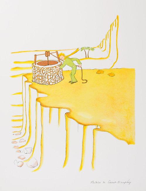 Le Petit Prince et le puit dans le désert (The Little Prince And The Well)