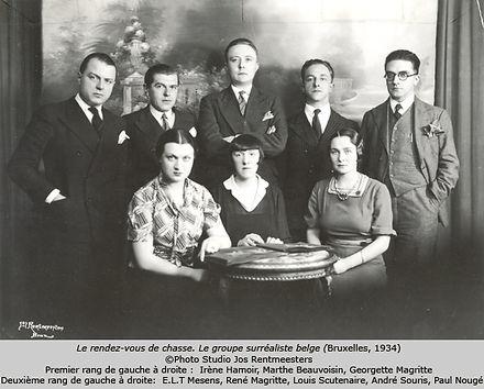 Le groupe surréaliste belge
