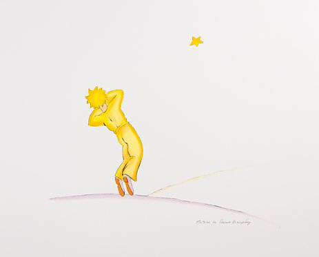 Le Petit Prince endormi (The Little Prince Falling Asleep)