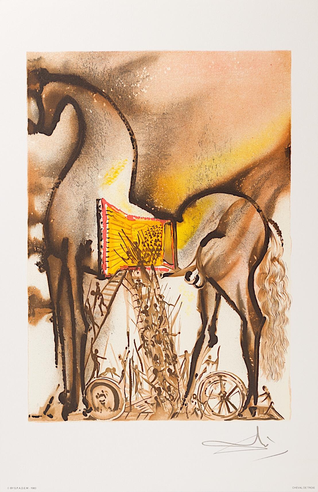 DALI - Cheval de Troie (1983)