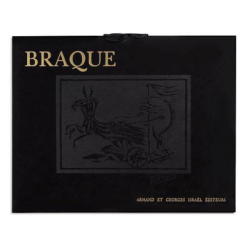 "Portfolio 12 Lithographs ""Les Métamorphoses de Braque"""