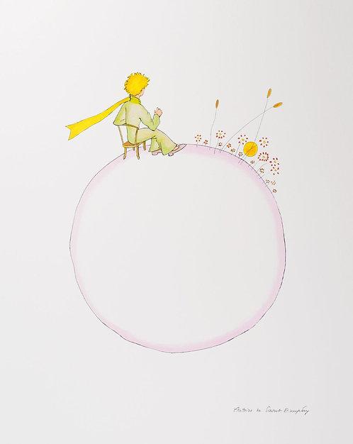 Le Petit Prince et le coucher de soleil (The Little Prince And The Sunset)