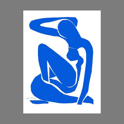 Nu Bleu I (Blue Nude I)