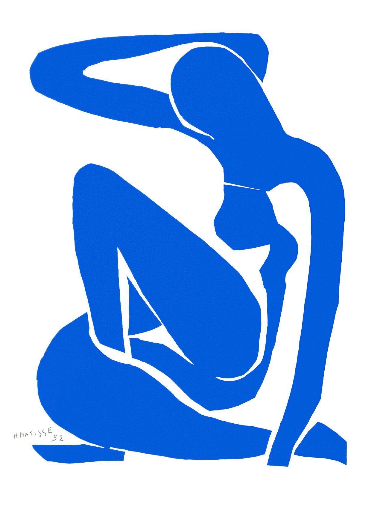 MATISSE - Nu Bleu 1 (1952)