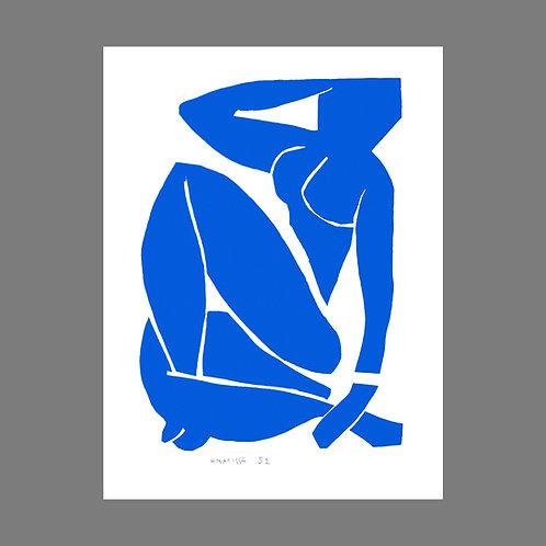 Nu Bleu III (Blue Nude III)