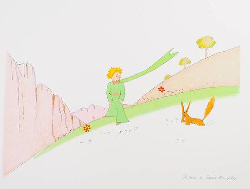Le Petit Prince et le renard (The Little Prince And The Fox)