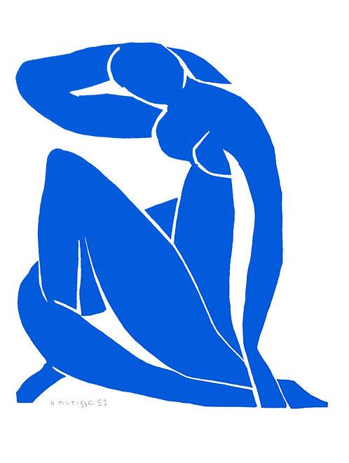 Nu Bleu II (Blue Nude II)