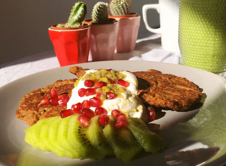 Quinoa and Chestnut pancake