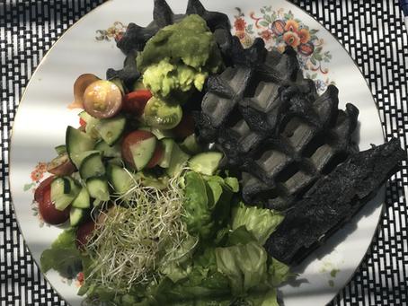 The dark waffle