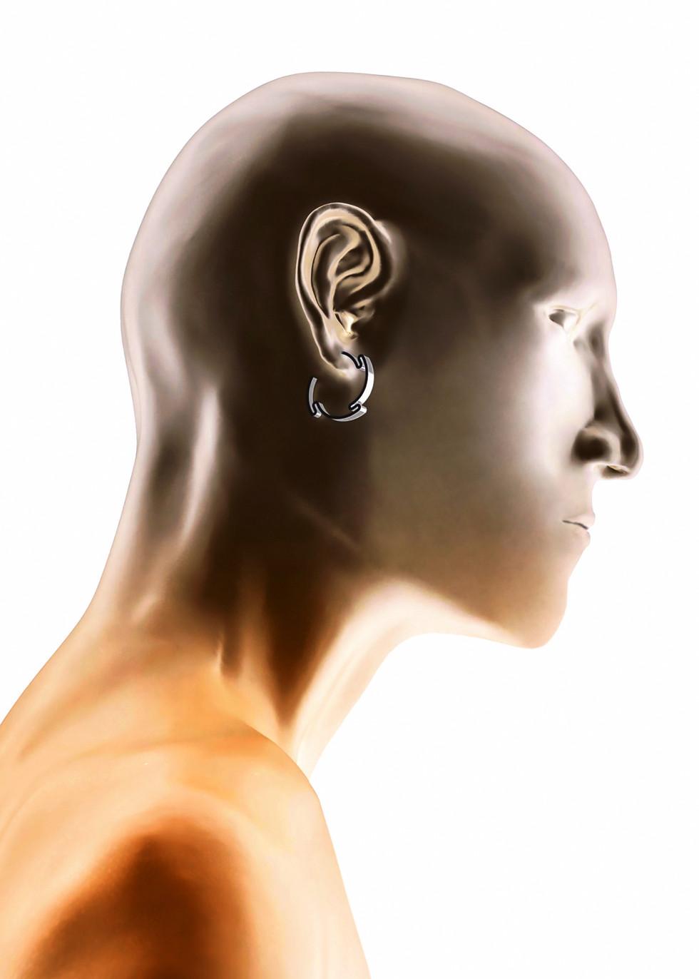 N E R U D A ⎮ Hoop Earrings