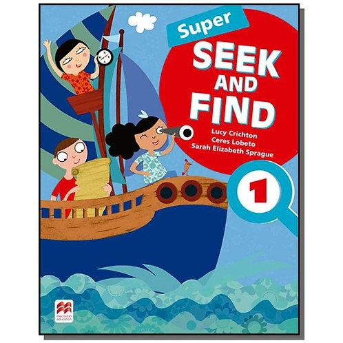 Inglês Super Seek and find Student Book Digital Pack 1