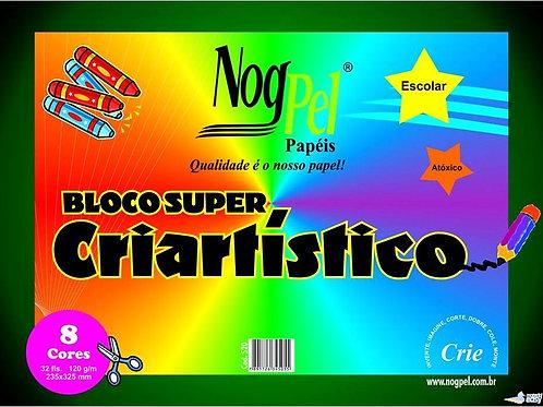 Bloco Criativo Nogpel 8 cores
