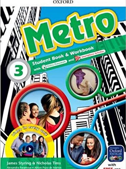 Metro 3 SB, Editora Oxford