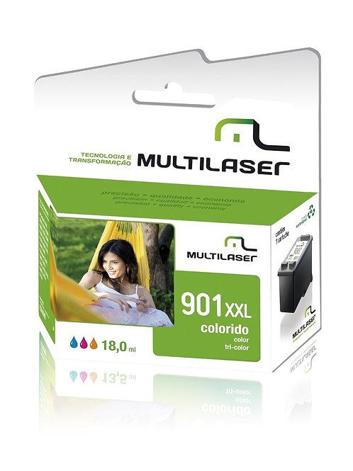 Cartucho 901 Color Multilaser