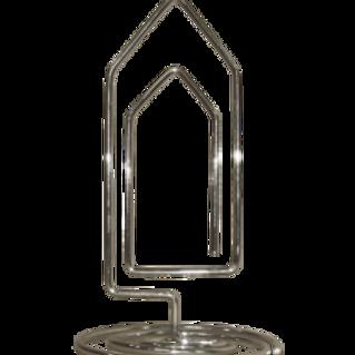 Clip porta recado base - 75mm altura 150mm